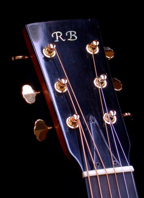 6 String Headstock