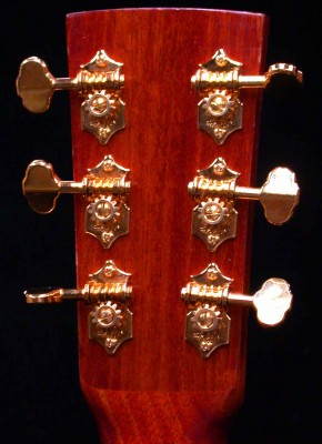 6 String Headstock – Back