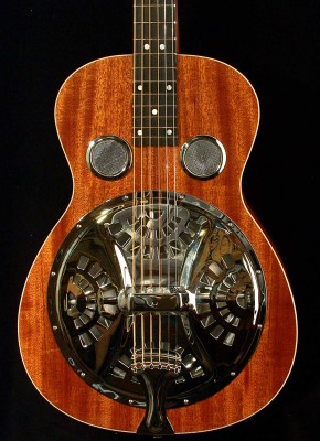 Square Neck Resonator – Front